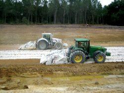 traitement de sols humides à la chaux